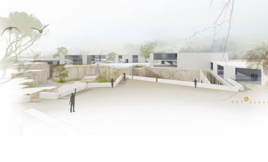 Plaza_Mirador de Bienvenida-Proyecto Esculturas del Vacío