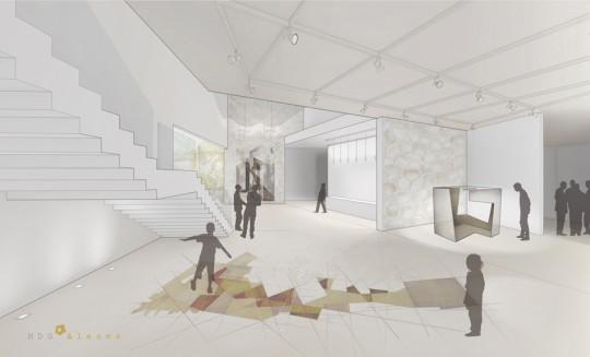 Sala de Exposiciones-Proyecto Esculturas del Vacío