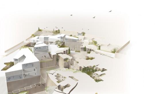 Vista de Pájaro I -Proyecto Esculturas del Vacío