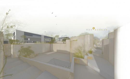 Vista desde Totem-Proyecto Esculturas del Vacío